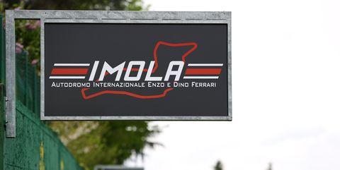 imola, sede del gp de emilia romaña
