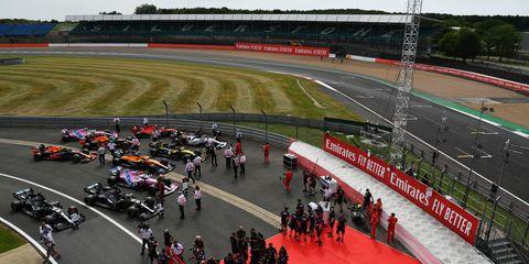 f1 70th anniversary grand prix qualifying