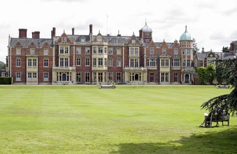 general view of sandringham house