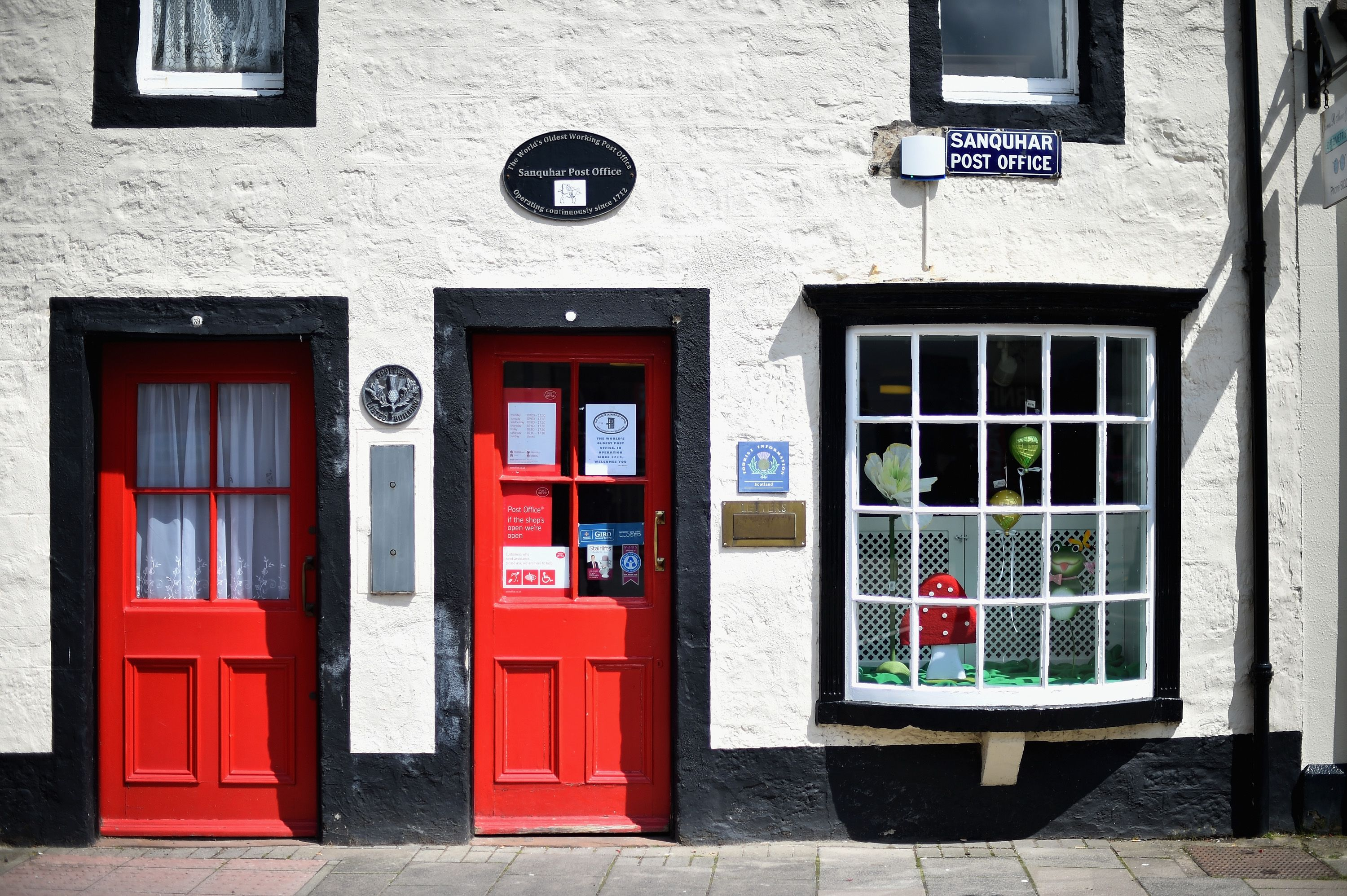 The world's oldest post office, Sanquhar Post Office in Scotland, up for sale