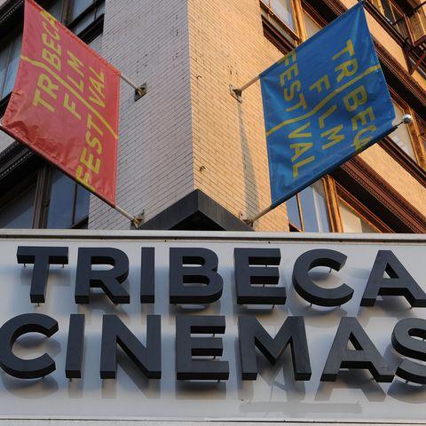 Preparations For The 2008 Tribeca Film Festival