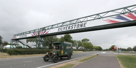 british racing drivers' club press conference   silverstone circuit