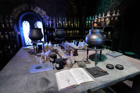 A Tour Of The Set Of Harry Potter