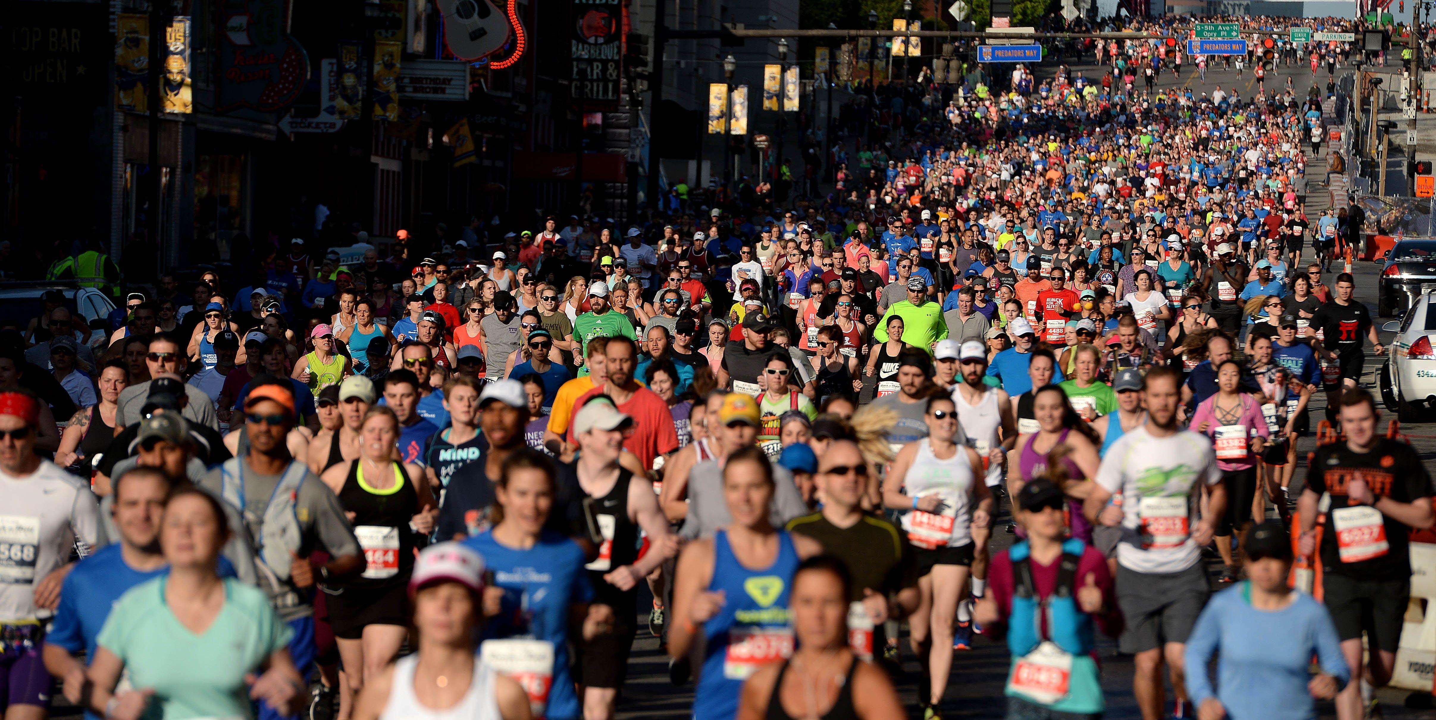2018 St. Jude Rock 'n' Roll Nashville Marathon & 1/2