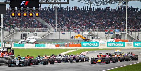 AUTO: OCT 01 F1 - Malaysian Grand Prix