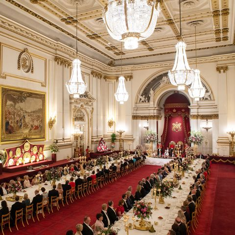 The Royal Family Reveals What It Takes to Prepare for a State Banquet at Buckingham Palace