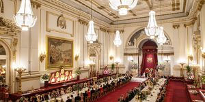 state banquet buckingham palace U.S. President Trump's State Visit To UK - Day One