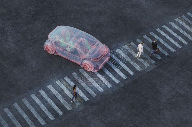 generic autonomous concept car