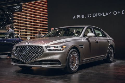 2020 Genesis G90 Gets Extreme New Styling More Safety Features