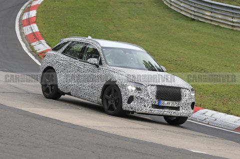 2021 Genesis GV70 Compact Luxury SUV Spied Stretching Its Legs