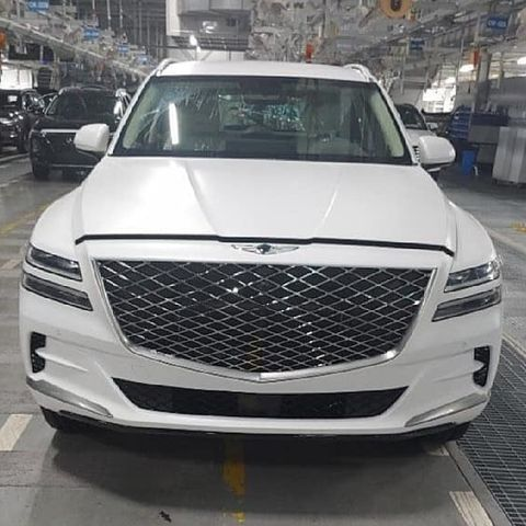 Genesis GV80 Mid-Size Luxury SUV Leaks Out Early