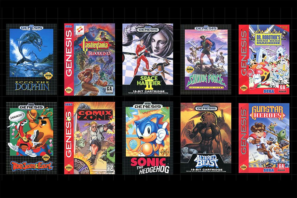 The Newly Announced Sega Genesis Mini Is a Blast From the Past With