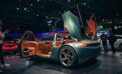 Genesis Mint Concept Two Seat Electric City Car