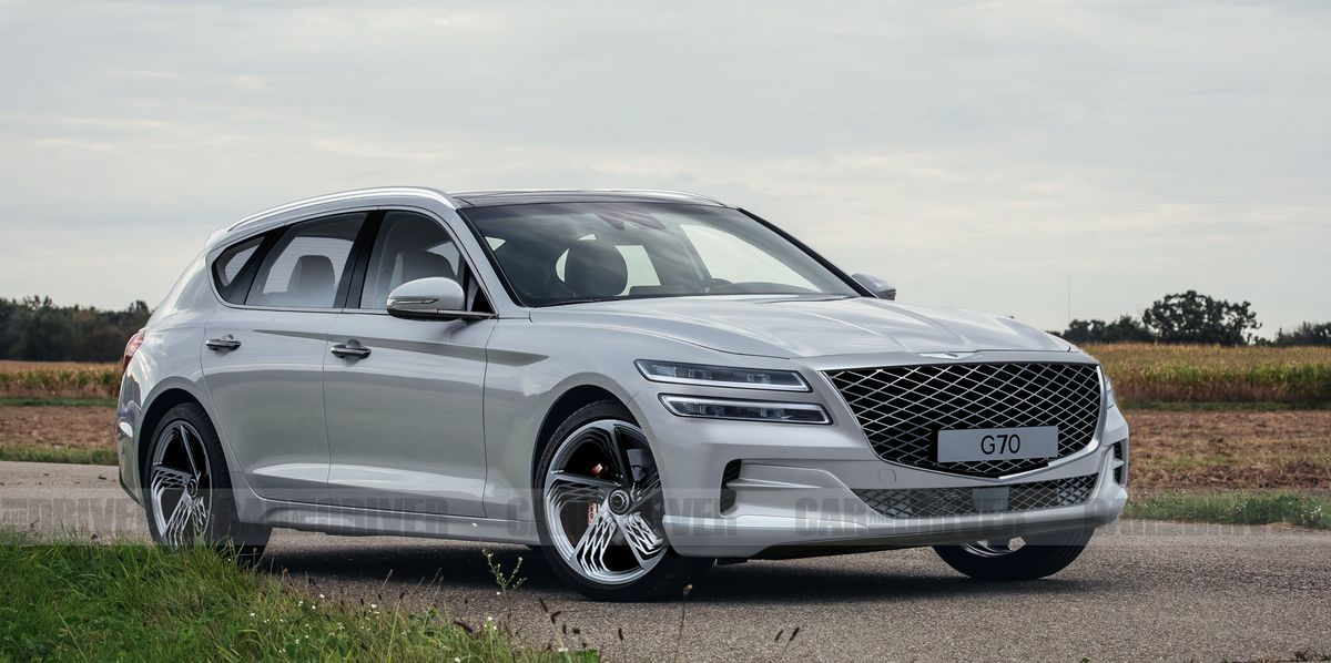 Genesis Likely to Launch a G70 Shooting Brake That Looks Like an Enthusiast's Dream