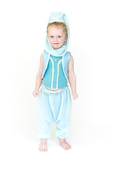 diy genie halloween costume for toddler girl
