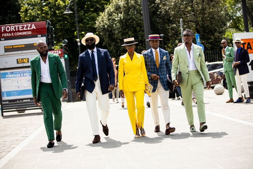 The Best Street Style Looks from Pitti Uomo 96
