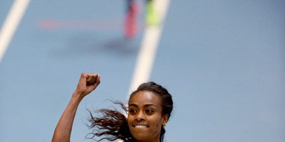 Genzebe Dibaba for Diamond League Story
