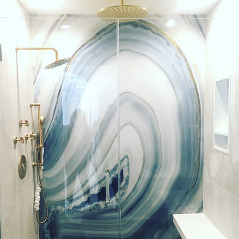 Geode Walls Add Instant Wow To Your Bathroom