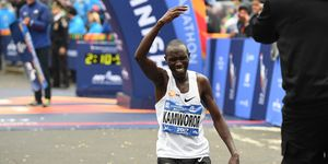 Geoffrey Kamworor récord del mundo Medio Maratón 2019