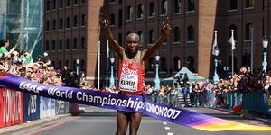 Equipo de maratón de Kenia para el Mundial de Doha 2019
