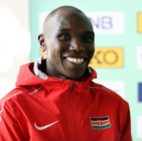 Kamworor half marathon world record