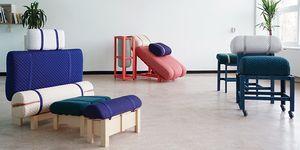 Los muebles de diseño de Geoffrey Pascal para la oficina