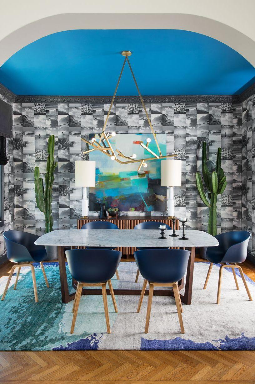 10 Contoh Inspirasi Gaya Dinding Interior Geometris