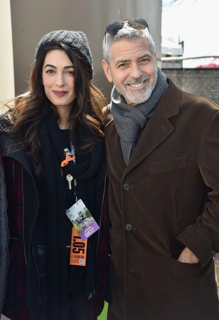 Most akkor terhes vagy sem? Amal Clooney a nyilvánosság elé lépett - FOTÓK