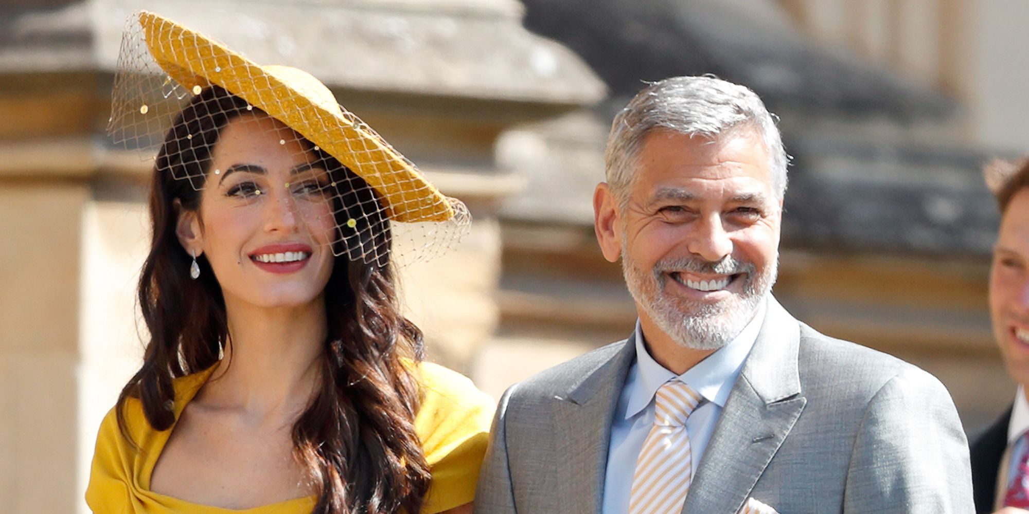 George and Amal Clooney are tipped to be godparents of Meghan and Harry's baby
