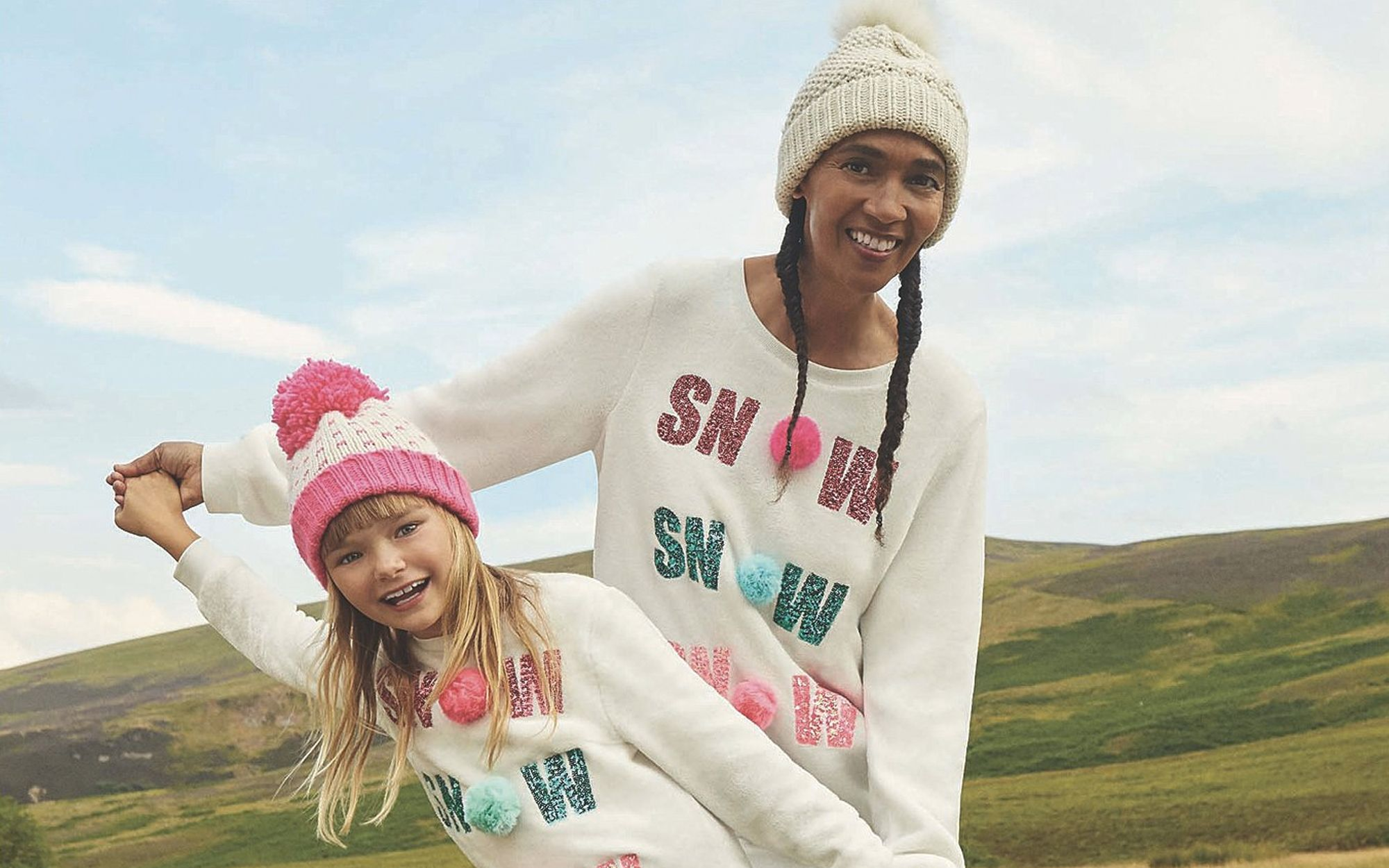 6790bc1aa4 George at Asda s selling adorable matching Christmas jumpers for mums and  daughters