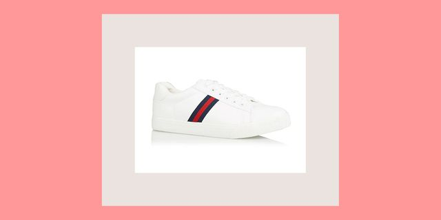84f52d328eb George at Asda £10 white trainers - Fans think Asda s trainers look similar  to designer Gucci pairs