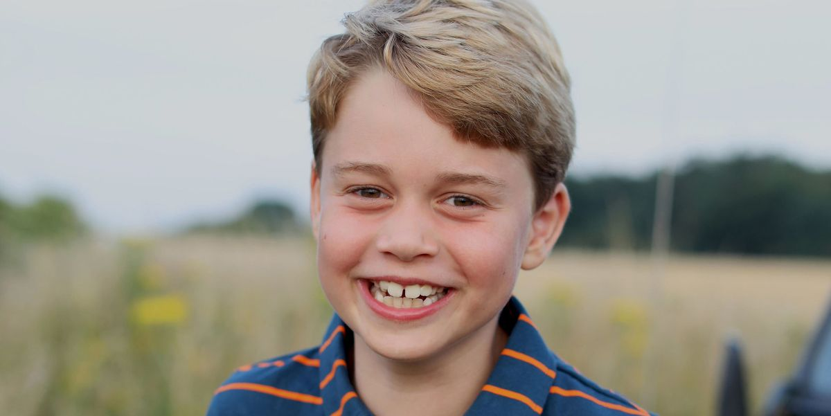 Prince George Looks So Grown Up In a New Photo, Taken By Kate Middleton For His Birthday