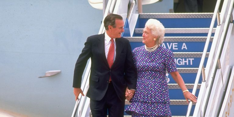 Barbara and George H.W. Bush's Love Story Through the Years
