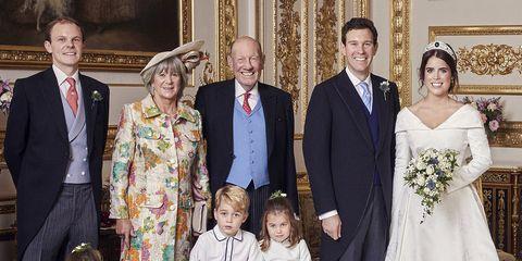 Official Wedding Photos.Princess Eugenie S Official Wedding Portraits Feature Prince
