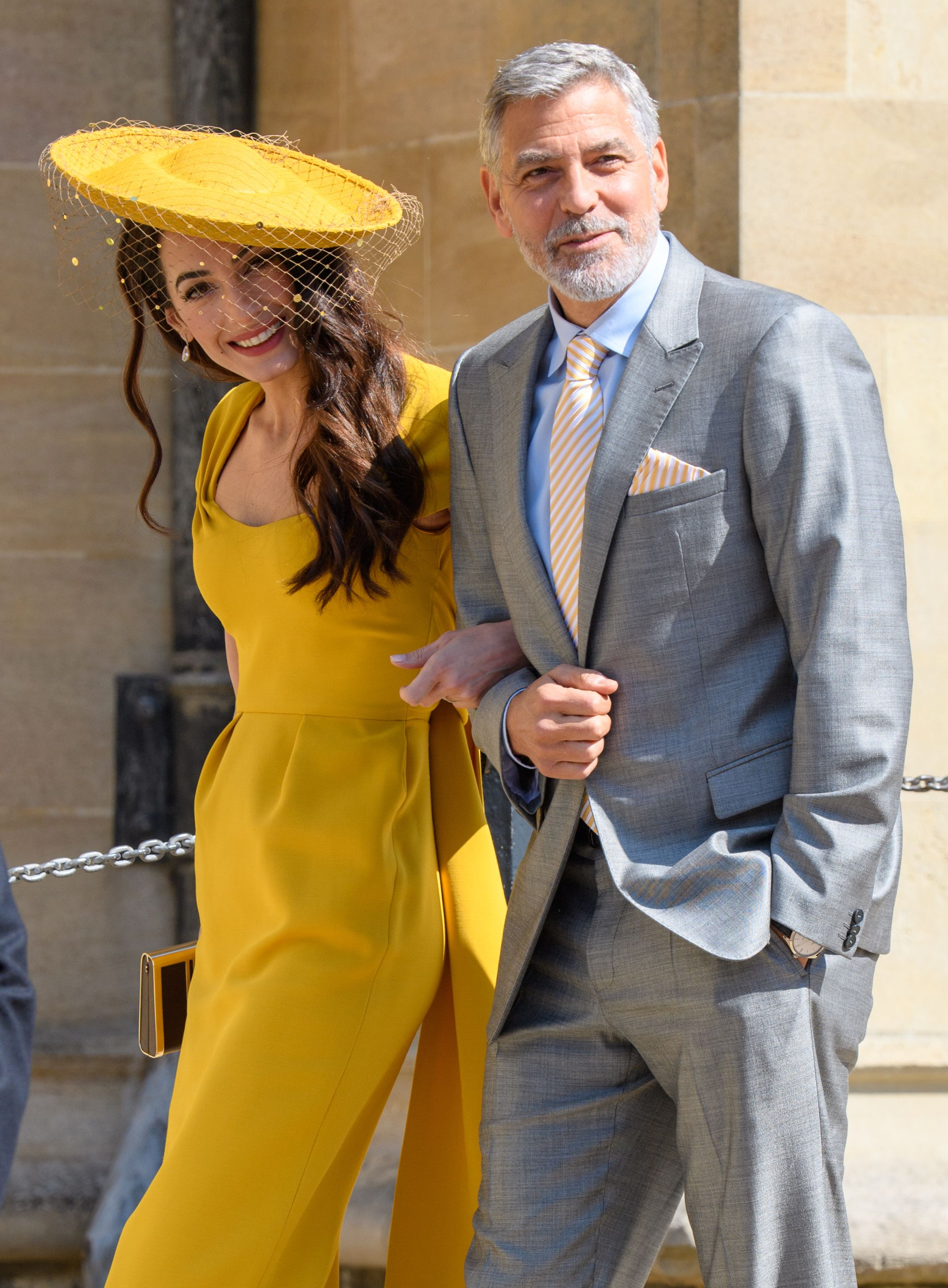 Will George and Amal attend the upcoming royal wedding?