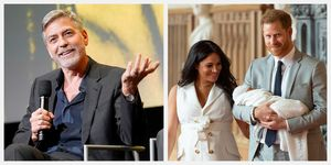 george clooney archie harrison royal baby
