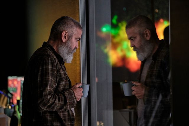 george clooney in netflix film the midnight sky