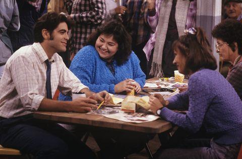 George Clooney on Roseanne