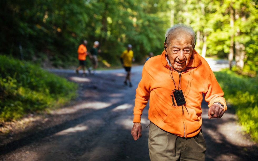 At 99 Years Old, George Etzweiler Can't Stop Running