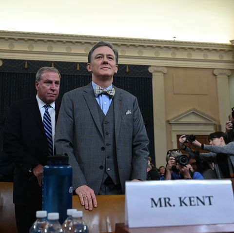 George Kent's Gigantic Impeachment Nalgene Has Me Quid Pro Quenched