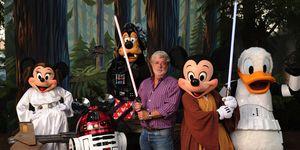 George Lucas salva Star Wars