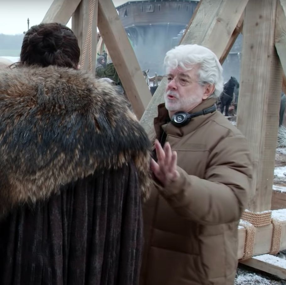 Star Wars' George Lucas helped direct a scene in the Game of Thrones season 8 premiere