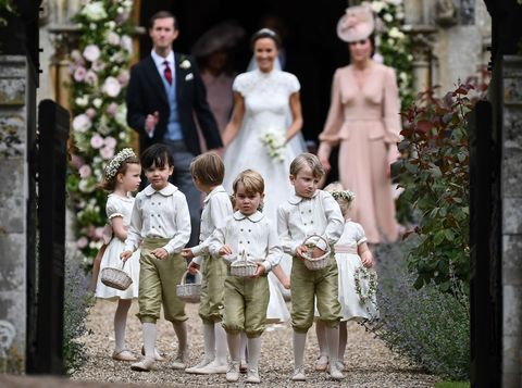 Prince George at Pippa Middleton's Wedding