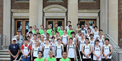 Georgetown Prep 2014 Cross Country Team