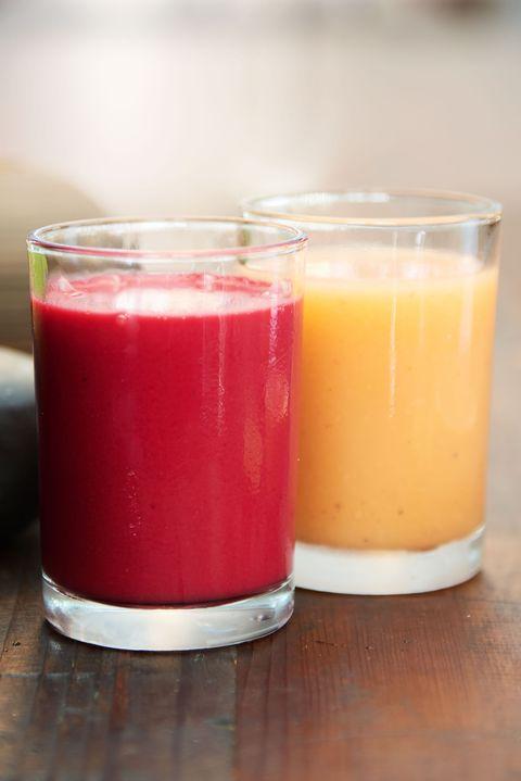 Serveware, Ingredient, Tableware, Drink, Juice, Peach, Dishware, Mixing bowl, Still life photography, Vegetable juice,