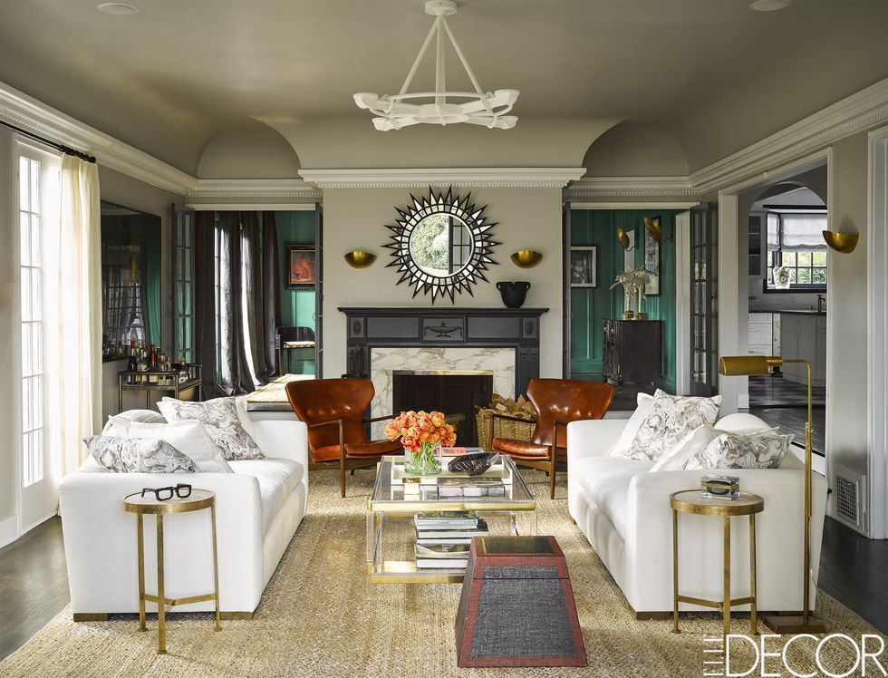 mantel decoration ideas & Fireplace Mantel Decorating Ideas - How to Decorate a Mantel