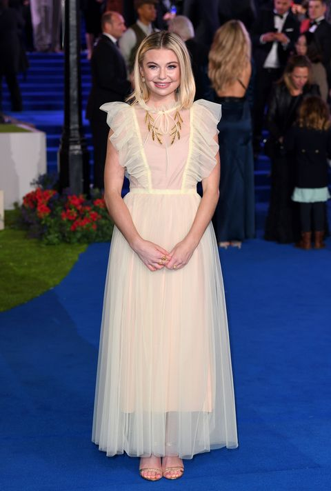 Georgia Toffolo, Mary Poppins Returns premiere