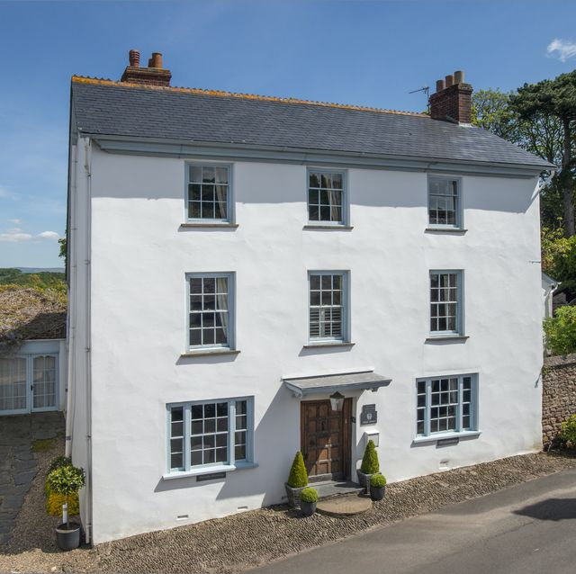 georgian property with views of dunster castle for sale in somerset