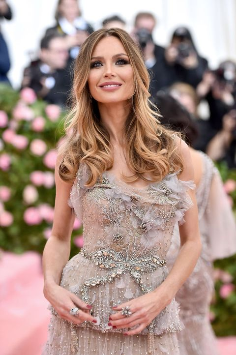 543467dfacb Marchesa s Georgina Chapman made a return to the red carpet last night