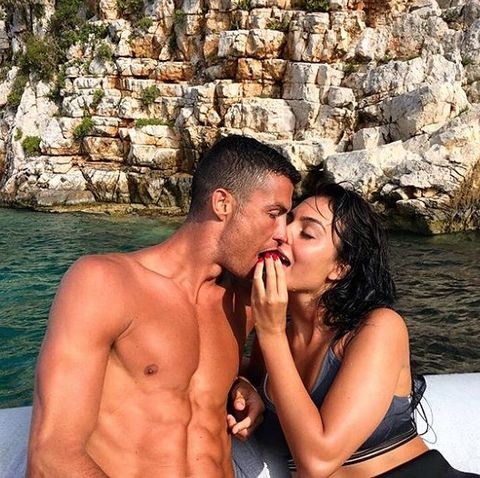 Georgina Rodríguez y cristiano ronaldo instagram